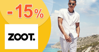 Zľavový kód -15% na už zľavnené na ZOOT.sk