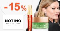Zľavový kód -15% na značku L'Oréal Paris na Notino.sk