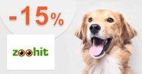 Zľavový kód -15% zľava k nákupu na ZooHit.sk