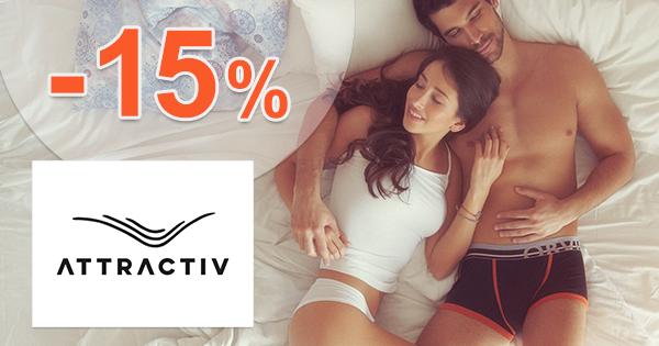 Zľavový kód -15% zľava na nohavičky Attractiv.sk