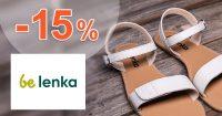 Zľavový kód -15% zľava na sandále na BeLenka.sk