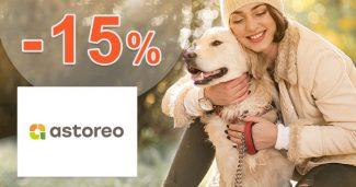 Zľavový kód -15% zľava na všetko na Astoreo.sk