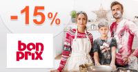 Zľavový kód -15% zľava na všetko na BonPrix.sk