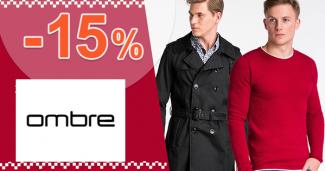 Zľavový kód -15% zľava na všetko na sk.Ombre.com