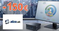 Zľavový kód -150€ zľava na Alza PC na Alza.sk
