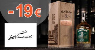 Zľavový kód -19€ na Jameson 18Y na Bevmarket.sk