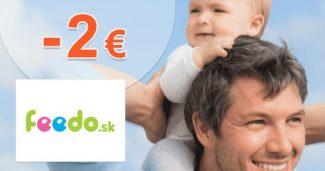 Zľavový kód 2€ +darček k nákupu Beba na Feedo.sk