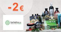 Zľavový kód -2€ na Herbatica.sk