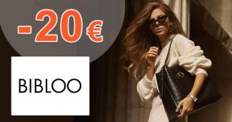 Zľavový kód -20€ zľava na všetko na Bibloo.sk
