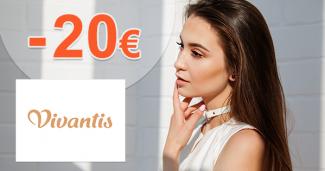 Zľavový kód -20€ zľava na všetko na Vivantis.sk
