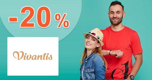 Zľavový kód -20% EXTRA k nákupu na Vivantis.sk