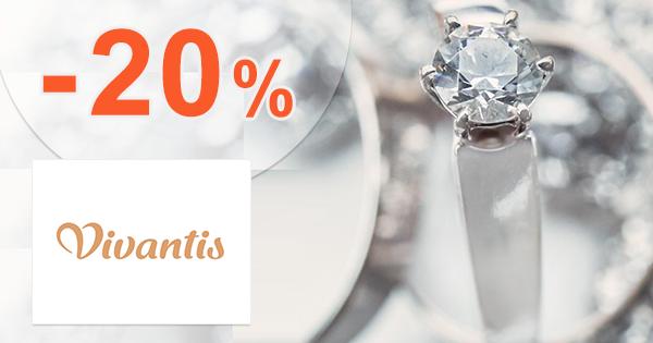 Zľavový kód -20% na šperky na Vivantis.sk