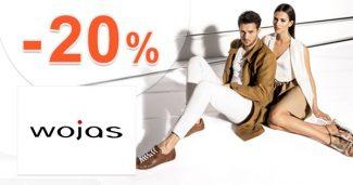 Zľavový kód -20% na žabky a sandále na Wojas.sk