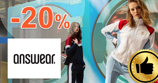 Zľavový kód -20% na Answear.sk