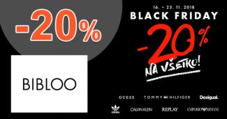 Zľavový kód -20% na Bibloo.sk
