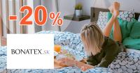 Zľavový kód -20% na Bonatex.sk