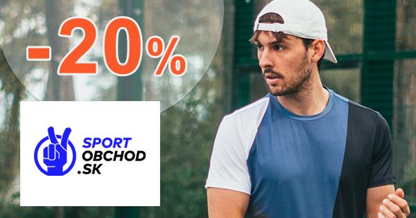Zľavový kód -20% na Endurance na SportObchod.sk