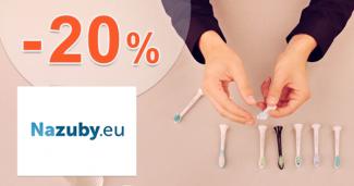 Zľavový kód -20% na Philips Sonicare na NaZuby.eu
