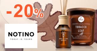 Zľavový kód -20% na bytové vône na Notino.sk