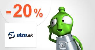 Zľavový kód -20% na dózy Tefal na Alza.sk