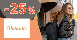 Zľavový kód -20% na nezľavnenú módu na Vivantis.sk