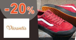 Zľavový kód -20% na pánsku obuv na Vivantis.sk