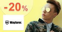 Zľavový kód -20% na slnečné okuliare na Wayfarer.sk