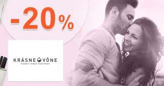 Zľavový kód -20% na vône Pure na KrásneVône.sk