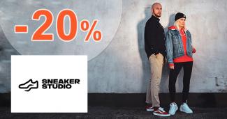 Zľavový kód -20% zľava na SneakerStudio.sk