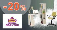 Set príručných stolíkov -20% na TempoNabytok.sk