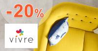Zľavový kód -20% zľava na VivreHome.sk