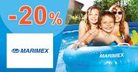 Zľavový kód -20% zľava na bazény na Marimex.sk