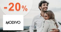 Zľavový kód -20% zľava na módu na Modivo.sk