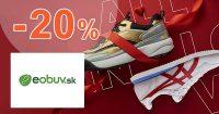 Zľavový kód -20% zľava na novinky na eObuv.sk