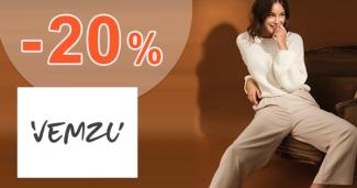 Zľavový kód -20% zľava na všetko na Vemzu.sk