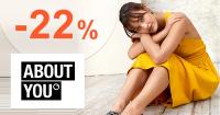 Zľavový kód -22% na AboutYou.sk