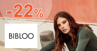 Zľavový kód -22% na Bibloo.sk