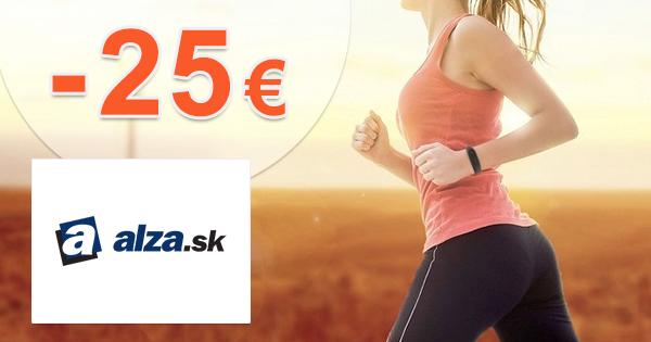 Zľavový kód -25€ na nositeľnú elektroniku na Alza.sk
