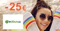 Zľavový kód -25€ zľava na eObuv.sk