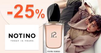 Zľavový kód -25% na Notino.sk, kupón, zľava, akcia