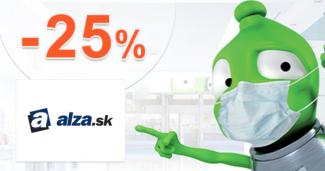 Zľavový kód -25% na chladničky Haier na Alza.sk