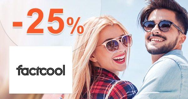 Zľavový kód -25% na pánsku módu na FactCool.sk