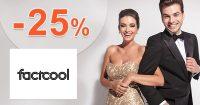 Zľavový kód -25% na dámsku módu na FactCool.sk