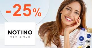 Zľavový kód -25% na sortiment Nivea na Notino.sk