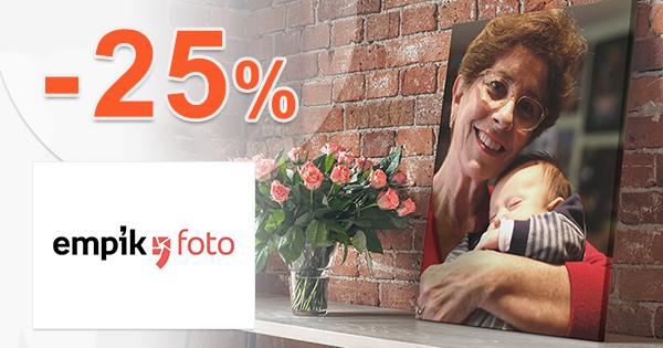 Zľava -25% na všetky fotoknihy na EmpikFoto.sk