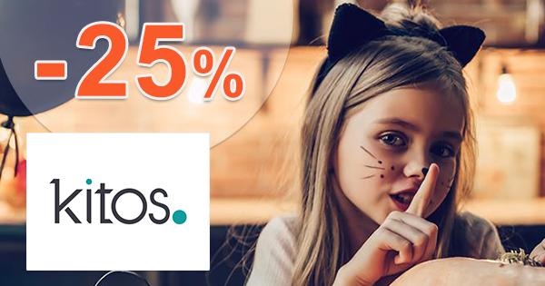 Zľavový kód -25% zľava na všetko na Kitos.sk