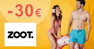 Zľavový kód -30€ zľava na ZOOT.sk