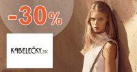 Zľavový kód -30% na Calvin Klein na Kabelecky.sk