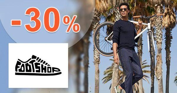 Zľavový kód -30% na TOP oblečenie na FootShop.sk