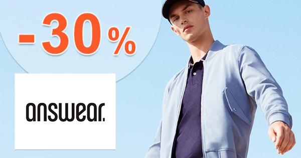 Zľavový kód až -30% EXTRA zľava na Answear.sk